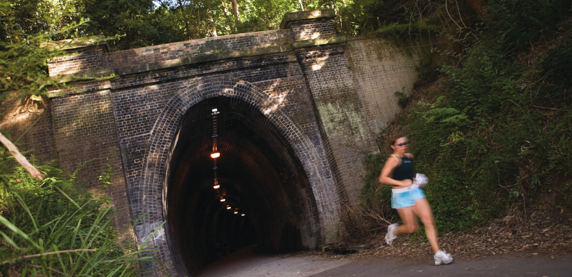 Fernleigh Track, image courtesy of Lake Macquarie Tourism